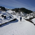 Mount Etna vulcano - snow - neve -walking